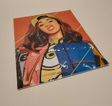 Cardi B Hip Hop Rap Pop Star Music Art Fabric HD Print Poster Canvas Wall Decor