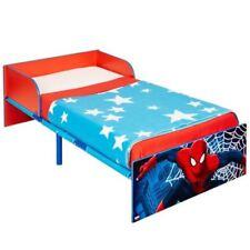 Cadres de lit et lits coffres bleu en métal pour la chambre à coucher