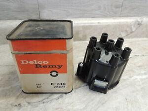 NOS Delco Remy 1957693 D-318 Distributor Cap, Buick Jeep 225 V6 1962-1967, Orig