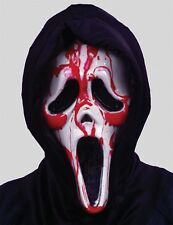 Halloween Bleeding Scream Mask Blood Pump Fancy Dress Costume Party Accessories