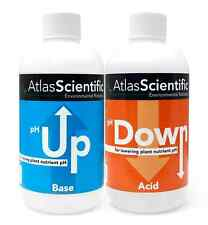 NEW pH Control Kit Two Up and Down 8oz Bottles Atlas Scientific