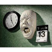 Angry Face Statue Wall Hanging Art Sculpture Medieval Gothic Halloween Decor