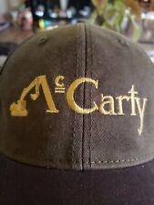 McCarty Equipment Hat Oilfield Oil Gas Abilene Texas Petroleum Energy Tx E2