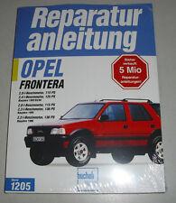 Reparaturanleitung Opel Frontera Benziner 2,0 / 2,2 / 2,4 Liter, Bj. ab 1992