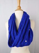 Laundry Shelli Segal Wool Blend Studded Infinity Loop Scarf Twilight Blue #5837