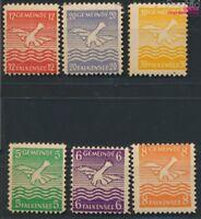 Falkensee (Berlin) 1b-6b (kompl.Ausg.) geprüft postfrisch 1945 Falke (9048869