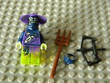 Lego Ninjago - Pitch Minifigure with Weapons - New Condition !!
