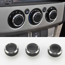 BLACK Ford Focus MK2 MK2.5 MK3 AC Air Conditioning Dash Control Knobs (Black)