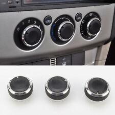 Ford Focus MK2 MK2.5 Negro MK3 AC Aire Acondicionado Dash las perillas de control (Negro)