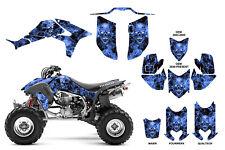 Honda TRX 450R graphics sticker kit FREE Custom Service #9500B Blue Zombie