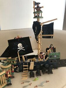 Pirate Ship Toy Characters And Accessories Included