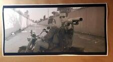 "Terminator Movie Scene Poster 12"" X 24"" Arnold Schwarzenegger Motorcycle Shotgun"