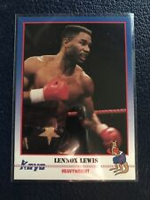 1991 KAYO Boxing #68  Lennox Lewis RC England  NM/MT+ w/Top Loader!