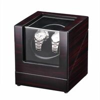 Deluxe Wood Watch Winder Storage Display Case Organizer Box Automatic Rotation