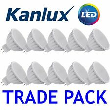 Pack Commerce x10 Kanlux non à Variation Tomi Led 5W MR16 Blanc Froid Ampoule