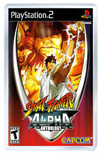 STREET FIGHTER ALPHA ANTHOLOGY PS2 FRIDGE MAGNET IMAN NEVERA