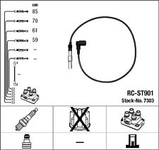 Cables bujia encendido NGK7303 - CR-ST901 - Ignition cable kit -  SEAT-VW