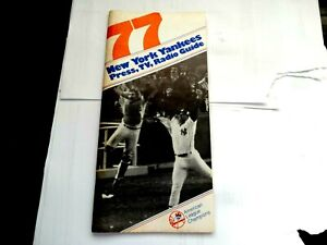 New York Yankees 1977 Media Guide