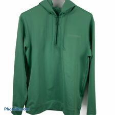 Vineyard Vines Mens XS Performance 1/4 Zip Up Sweatshirt Hoodie Green Athletic