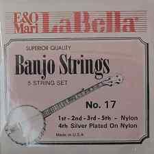 La Bella 17LAB Nylon 5 Stg Banjo Set