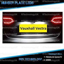 PREMIUM Vauxhall Vectra C 03+ Xenon White LED Number Plate Light Bulbs Upgrade