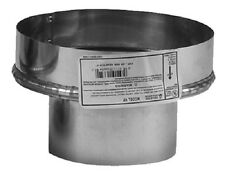 """Selkirk 244246 4Vp-A6 4"""" Pellet Vent Pipe to Ultra Temp Chimney Adapter"""