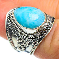 Larimar 925 Sterling Silver Ring Size 6 Ana Co Jewelry R46350F