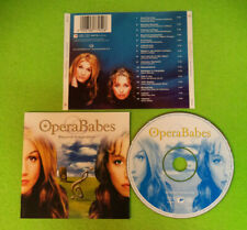 CD OPERA BABES Beyond Imagination 2002 Europe SONY CLASSICAL SK87795   (CS31)