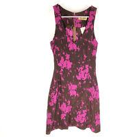 KAREN ZAMBOS Shift Dress Size Large 100% Silk Sleeveless NEW WITH TAGS