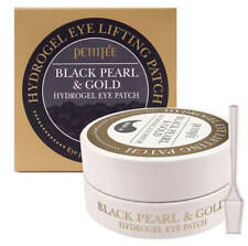 Petitfee Black Pearl & Gold Hydrogel Eye Patch [60pc] Soothe Puffy Eyes