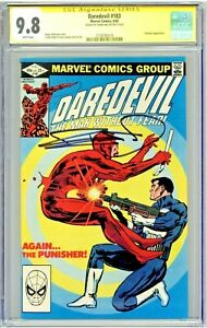 Daredevil #183 CGC 9.8 SS Frank Miller Signed Punisher Appearance Classic Cover