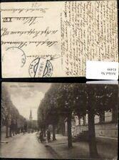 81499,Beesd Voorstraat Soldat mit Rad und Frau Straßenpartie