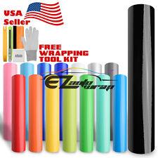 *Premium Gloss Glossy Vinyl Car Auto Wrap Sticker Decal Bubble Free Air Release