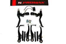 Fahrad V-Brake Promax Bremsen Set inkl. Bremshebel Aluminium Bremsschenkel