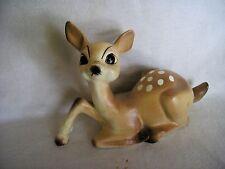 Vintage Norcrest Japan Matte Porcelain Fawn Deer Figurine A-319