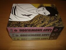 Lady Snowblood Nr.1-3 komplett (Carlsen) Manga deutsch