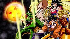 Poster 42x24 cm Dragon Ball Goku Saiyan Shelong 04