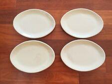 "Pottery Barn Studio Putty Barbara Eigen Oval Serving Platter 9.5"" Taupe Beige 4"