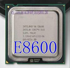 IIntel Core 2 Duo E8600 3.33 GHz Dual Core 6M 1333 Processore LGA775 CPU SLB9L