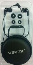Vertix E31MV In Ear Headphones MIC and Volume Control Black for iPod/iPhone/iPad