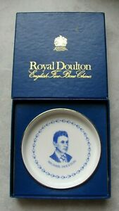 ROYAL DOULTON Small Plate - Michael Doulton, Hand-signed by Him at an Event
