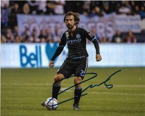 New York City FC Andrea Pirlo Autographed Signed 8x10 MLS Photo COA A Italy