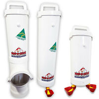 Chicken Feeder & Drinker Set + 2 Litre Drinker / Chook Waterer / Poultry Coop