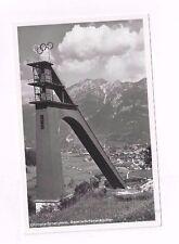 SWITZERLAND antique photo post card Olympia Sprungturm Garmisch-Partenkirchen
