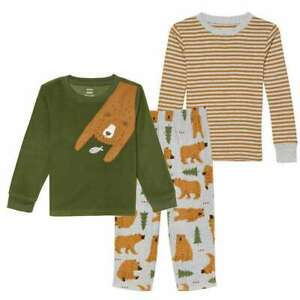 Toddler Boys 3 4 Carter/'s 4-Piece Shark /& Pizza Pajama Set