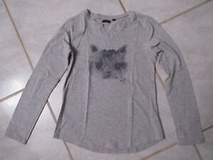 T shirt gris de la marque Ikks taille 10 ans