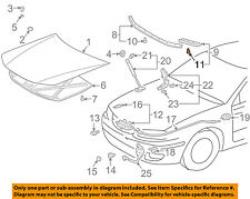 Genuine Toyota Lock Assembly Protector 53525-AA030