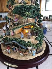 Thomas Kinkade Lighted Musical Nativity Tree Glory To The New Born King