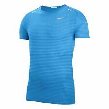 Nike TechKnit Ultra Men's Running Top T-Shirt Blue Size S M CJ5344-402