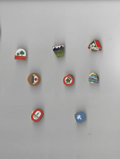 Scouts Canada Canadian Jamboree Pins Set of 8 1949, 53, 61, 77, 81, 85, 89, 93